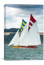 Windward Boat!, Canvas Print