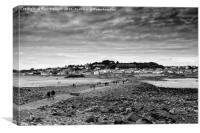Marazion Cornwall, Canvas Print