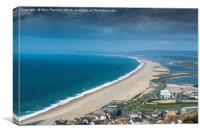 Chesil Beach, Canvas Print