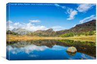 Blea Tarn, Cumbria, Canvas Print