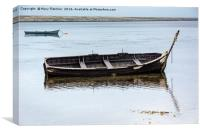 East Fleet fishing boat, Canvas Print
