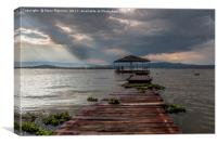Lake Naivasha, Canvas Print