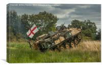 Armoured Vehicle, Canvas Print