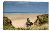 Gwithian Beach, Cornwall, Canvas Print