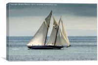 Superyacht Mariette, Canvas Print
