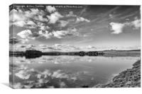 Siblyback Lake Reflections, Canvas Print