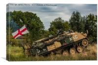 Armoured Personnel Carrier, Canvas Print