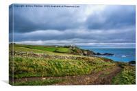 Lizard Point, Cornwall, Canvas Print
