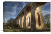 Sudbury branch line bridge, Canvas Print