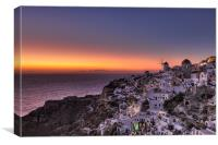 Santorini, Greece, Canvas Print