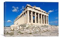 Parthenon, Greece, Canvas Print