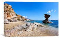 Andros island, Greece, Canvas Print