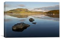 Loch of Rocks, Canvas Print