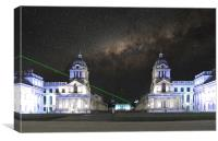 The Prime Meridian, Greenwich, Canvas Print