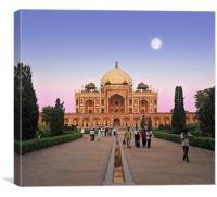 Humayamens Tomb, Delhi, India, Canvas Print