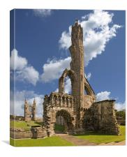 The Cathedral, St Andrews, Canvas Print