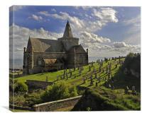 The Kirk, St Monans, Canvas Print