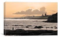St Monans, Fife, Canvas Print