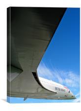 Concorde in Flight, Canvas Print