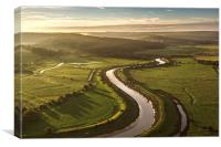Cuckmere River, Canvas Print