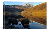 Mount Snowdon, Canvas Print