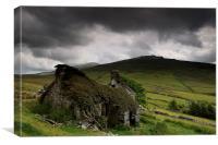 Welsh Ruin, Canvas Print