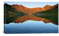 Snowdon Horseshoe, Canvas Print