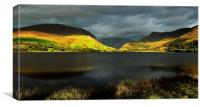 Autumn Light - Nantlle, Canvas Print