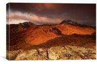Sunrise - Snowdonia, Canvas Print