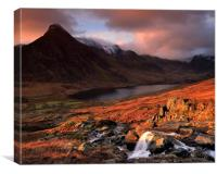 Ogwen Dawn, Canvas Print