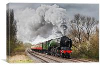 Tornado storming through the Nene Valley, Canvas Print