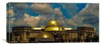 Golden Dome, Canvas Print