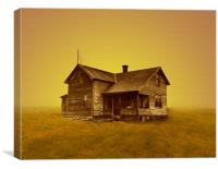 Dustbowl orphan, Canvas Print