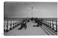 Swanage Jetty, Canvas Print