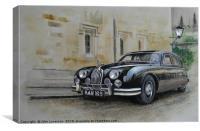 A particular Jaguar, Canvas Print