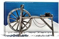 Santorini feeling, Canvas Print