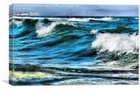 wave , Canvas Print