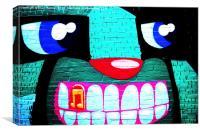 Graffiti 20, Canvas Print