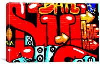 Graffiti 19, Canvas Print