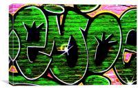 Graffiti 18, Canvas Print