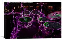 Drums 1, Canvas Print