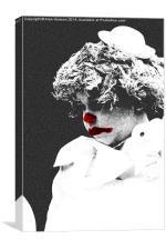 Clowns #3, Canvas Print