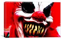 Clowns 1, Canvas Print
