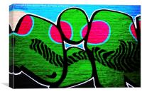 Graffiti 12, Canvas Print