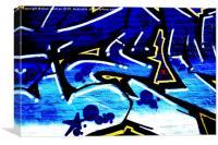 Graffiti 15, Canvas Print