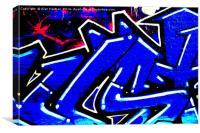 Graffiti 13, Canvas Print