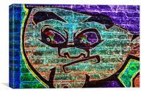 Graffiti 7, Canvas Print