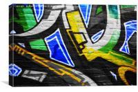 Graffiti 6, Canvas Print
