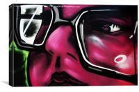 Graffiti 5, Canvas Print