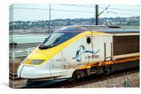 Eurostar 3200, Canvas Print